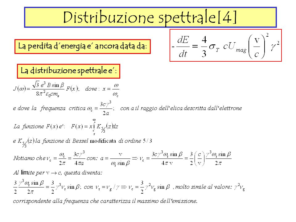 Distribuzione spettrale[4]